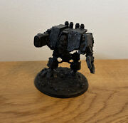 Warhammer 40k - Forgeworld - Chaos Space Marines - Night Lords Dreadnought - Oop