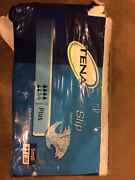 Vintage Tena Slip Plus Sz Small. Open Package 25 Adult Diapers, Plastic Backed.
