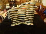 1941 Buick Right Side Grille Half Nors Bright Chrome 41