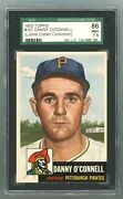 1953 Topps 107 Danny O'connell Sgc 7.5 Nm+ 1247489-285 Apr21