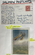 1915 England Early Aviation Picture Postcard Cover To Somerset