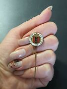 1928 Amsterdam Games Of The Ix Olympiad, Commemorative Vintage Pin Badge