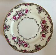 """Grace China Made In Occupied Japan 8"""" Salad/desert Plates Corsage Set Of Eight"""