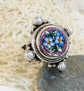 Echo Of The Dreamer/mars And Valentine Mosaic Ring