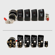 Standard 4 Piece Switch Set W/ Outboard Ignition Switch And Horn Button