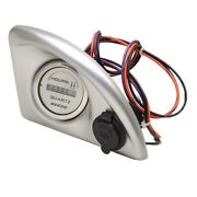 Skierand039s Choice Boat Gauge Panel 104213 | Hour Meter 6 X 4 Inch 12v