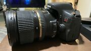 Canon Eos Rebel T6i Dslr Camera With Tamron Lens 24-70mm