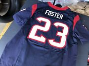 Nike On Field Authentic Nfl Houston Texans Jersey 23 Arian Foster Size 52