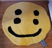 Nwt Cactus Plant Flea Market Cpfm Double Vision Smiley Face Rug 2020 Authentic