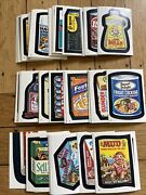 1982 Topps Wacky Packages Complete Sticker Album Card Set 120/120 Nm Nice