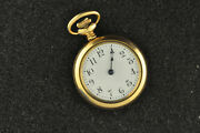 Nice Vintage Ladies New England Watch Co, 0 Size 20 Yr Gold Filled Pocket Watch