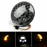 7 Motorcycle Headlight Led High Low Beam Lamp Fits Bmw R1200 R Nine T 2014-2017