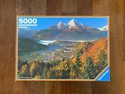 New Vintage 5000 Ravensburger Autumn In The Alps Jigsaw Puzzle 1982