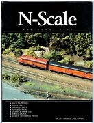 N Scale Magazine May/jun 1990-model Railroad Trains Layout Detailing Back Issue