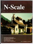 N Scale Magazine May/jun 1992 -model Railroad Trains Layout Detailing Back Issue