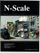 N Scale Magazine May/jun 1995 -model Railroad Trains Layout Detailing Back Issue