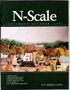 N Scale Magazine Sep/oct 1991 -model Railroad Trains Layout Detailing Back Issue