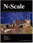 N Scale Magazine Sep/oct 1992 -model Railroad Trains Layout Detailing Back Issue