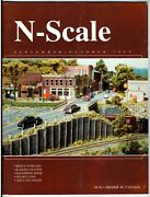 N Scale Magazine Sep/oct 1993 -model Railroad Trains Layout Detailing Back Issue