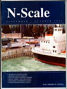 N Scale Magazine Sep/oct 1995 -model Railroad Trains Layout Detailing Back Issue