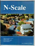 N Scale Magazine Jul/aug 1995 -model Railroad Trains Layout Detailing Back Issue