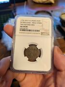 1756 Voc Duit Mule Strike Mint Error Ngc Au58 Two Reverse Dies East Indies