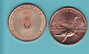 Loch Ness 1 Advp Oz. Copper Round 4 Coin In The Cryptozoology Series