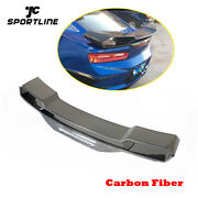 Fit For Chevrolet Camaro Coupe 16-18 Rear Trunk Boot Spoiler Wing Carbon Fiber