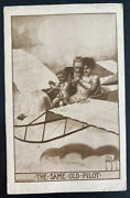 Mint Usa Picture Postcard Early Aviation The Same Old Pilot