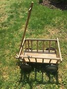 Antique Wooden Goat Cart Wagon Local Pick Up Only In Md Dc Nova