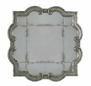 Uttermost 12597 P Black/silver Prisca Small Etched Mirror With Ornate Frame