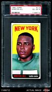 1965 Topps 116 Winston Hill Jets Texas Southern Psa 6 - Ex/mt
