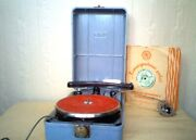 Gramaphone Musical Instrument Old Antique Acoustics Disc Box Collectibles Nice