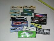 Lot Of 15 Lock Back Pocket Knives - Most Are Frost - Original Boxes - Nos