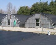 3.5' Sidewall Greenhouse 24' X 24' - High Tunnel Cold Frame Kit - Free Shipping
