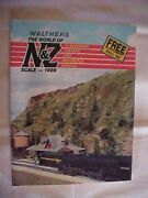 The World Of N And Z, Walthers Catalog And Reference Manual 1988 Model Trains