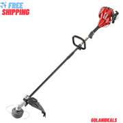Straight Shaft Gas Trimmer 2-cycle 26 Cc Weedeater Lightweight Adjustable Handle