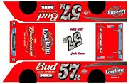 57 Budweiser Crate Dirt Late Model 1/24th Scale Waterslide Decal