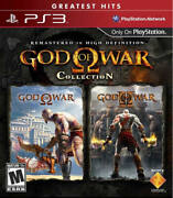 God Of War Collection 1and2 Ps3 New Playstation 3