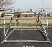 Mako Boat Aluminum Hard Top Frame With Gold Rod Holde
