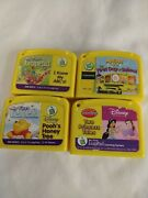 Lot Of 4 Leap Frog My First Leap Pad Preschool Game Cartridges