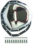 Chrome Steel Chevy Gmc Truck 12 Bolt Rear Differential Cover Kit 1963-1987 C-10