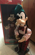 Telco Goofy Animated Motion 1995 Christmas At Our House Music Tested Works W/box