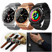 Men's Bluetooth Smart Watch Touch Screen Fitness Tracker For Samsung Lg Huawei