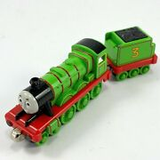 Henry And Tender 2002 Thomas And Friends Diecast Metal Railway Train