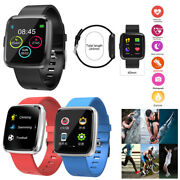 Heart Rate Monitoring Touch Screen Bluetooth Smart Watch For Android Ios Phone
