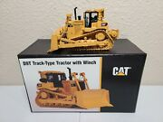 Cat D9t Dozer With Winch - Ccm Brass 148 Scale Model Only 80 Made New