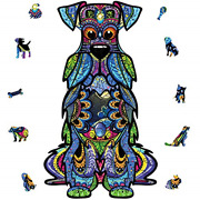 Wooden Jigsaw Puzzles, 200 Uniquely Shaped Animal-shaped Puzzle Pieces, The Best