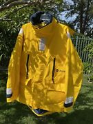 Quark Expeditions Polar Artic Parka Coat L Hood Waterproof Reflective Ski