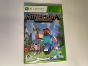 Minecraft Xbox 360 Edition Brand New Factory Sealed